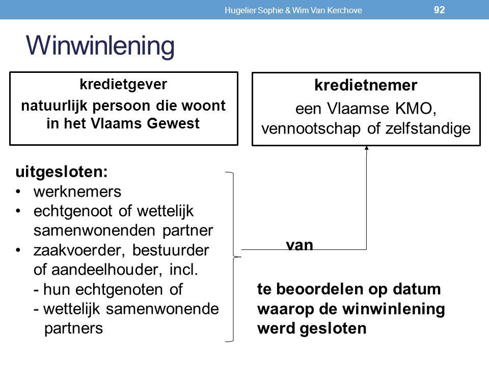 Hugelier Sophie & Wim Van Kerchove