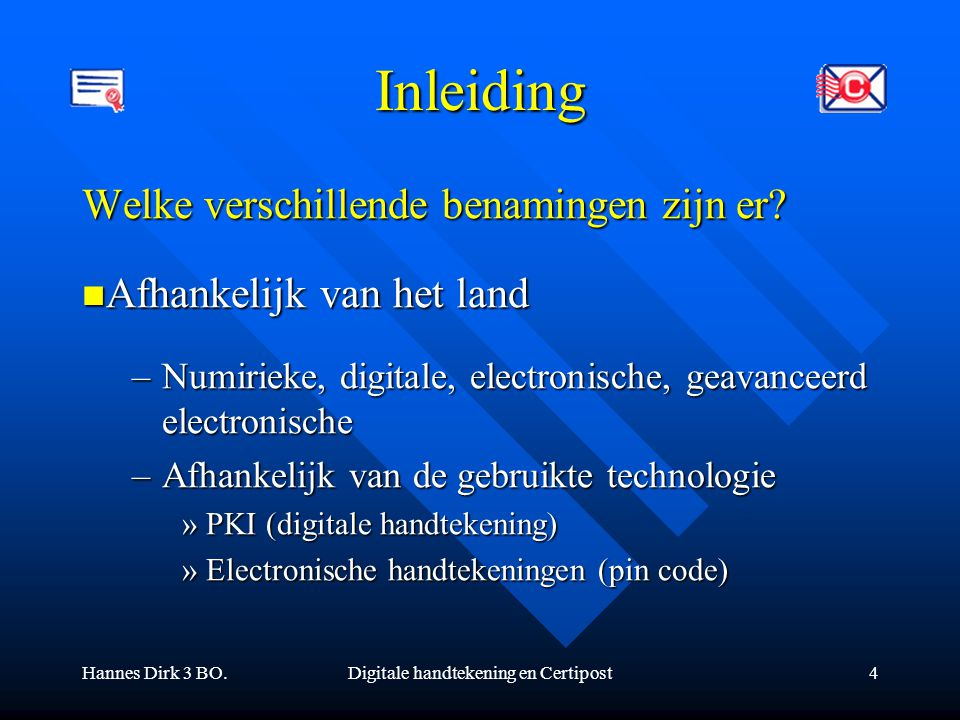 Digitale handtekening en Certipost
