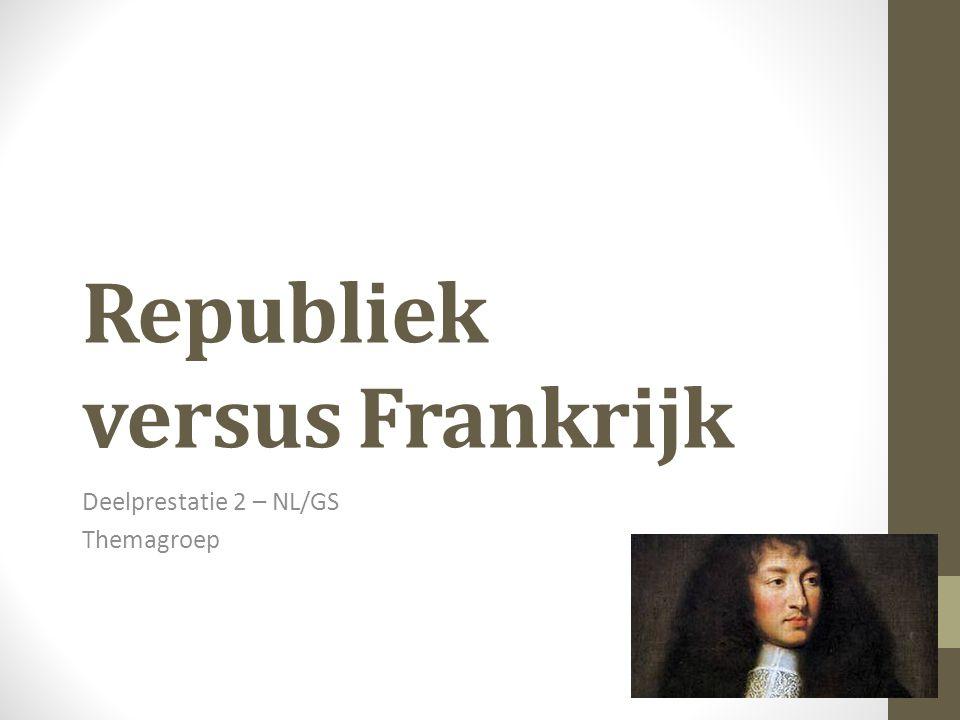Republiek versus Frankrijk