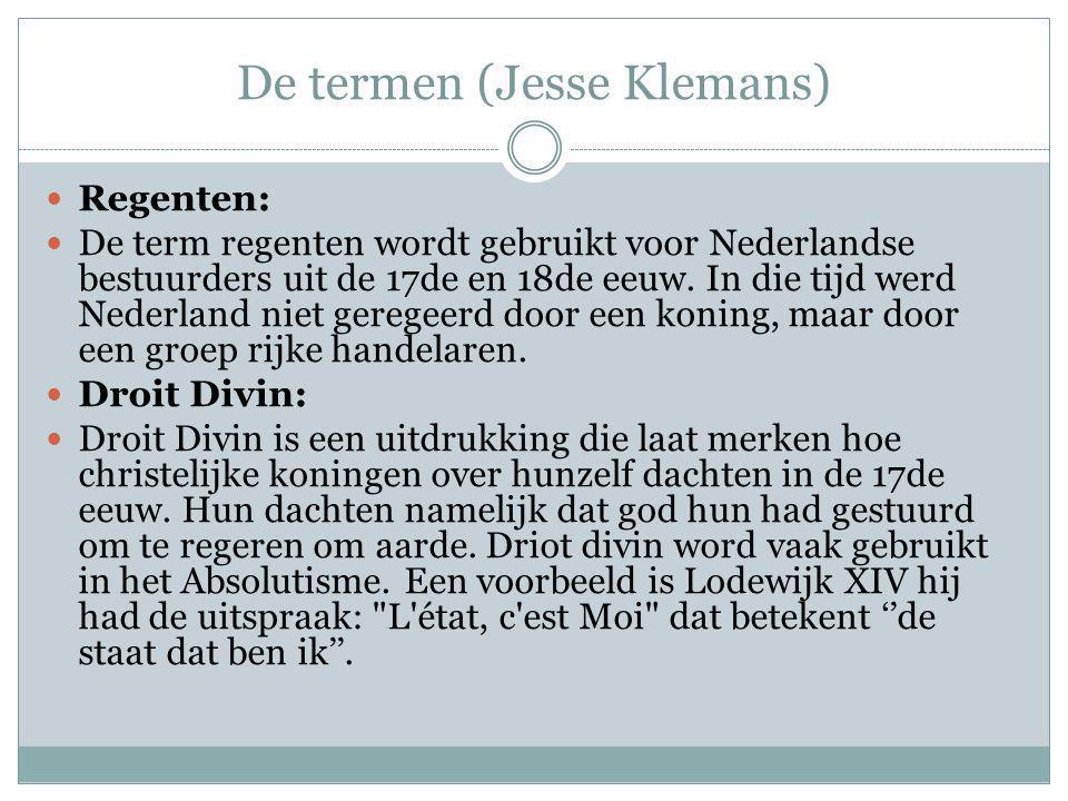 De termen (Jesse Klemans)