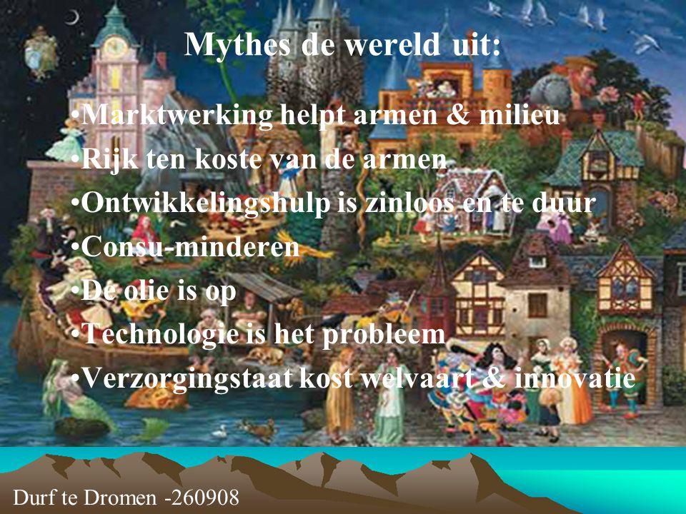 Mythes de wereld uit: Marktwerking helpt armen & milieu
