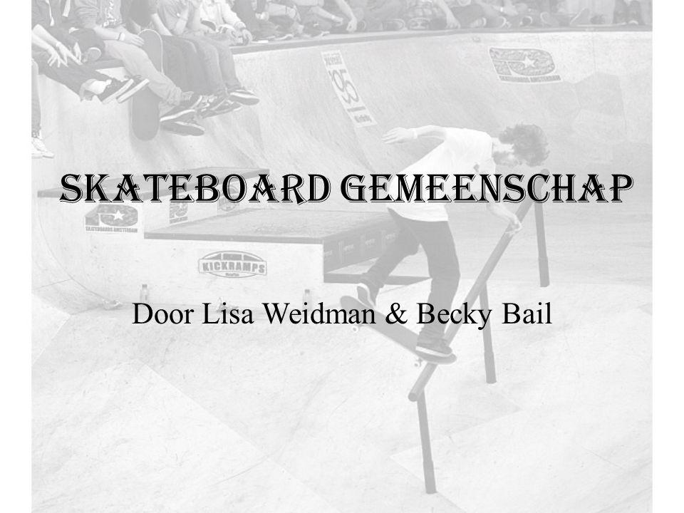 Skateboard gemeenschap