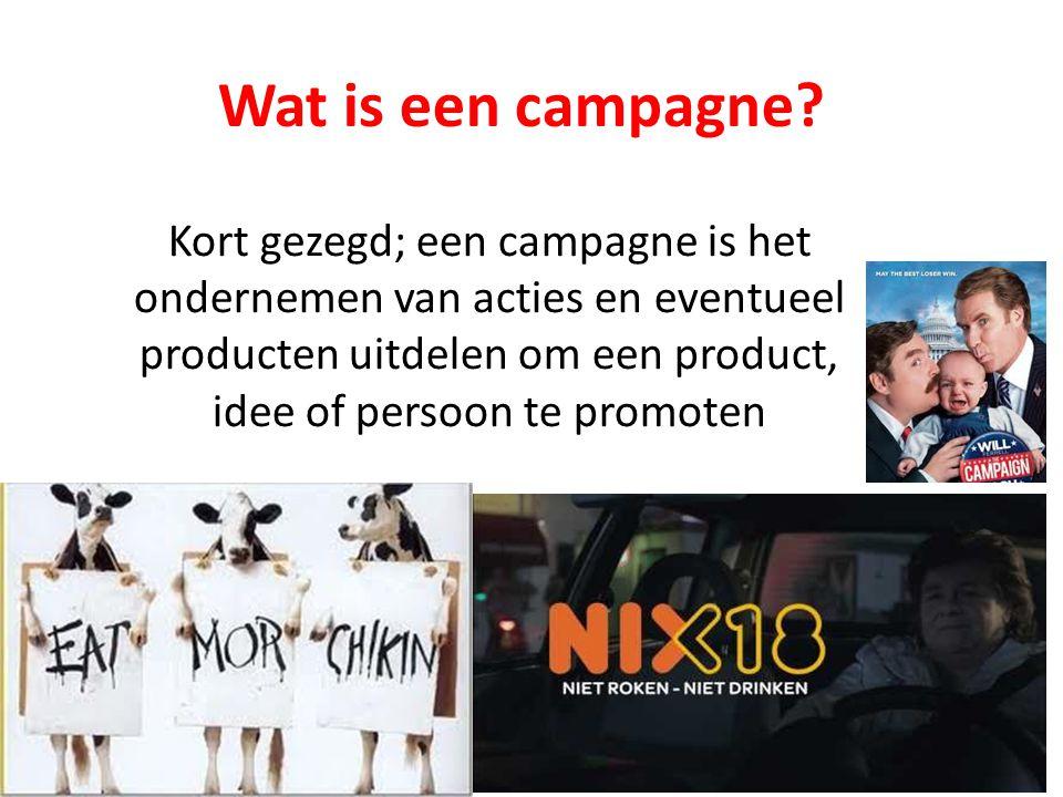 Wat is een campagne