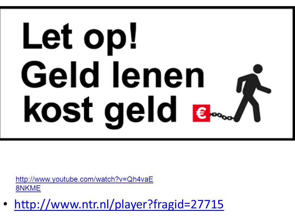 http://www.youtube.com/watch v=Qh4vaE8NKME http://www.ntr.nl/player fragid=27715
