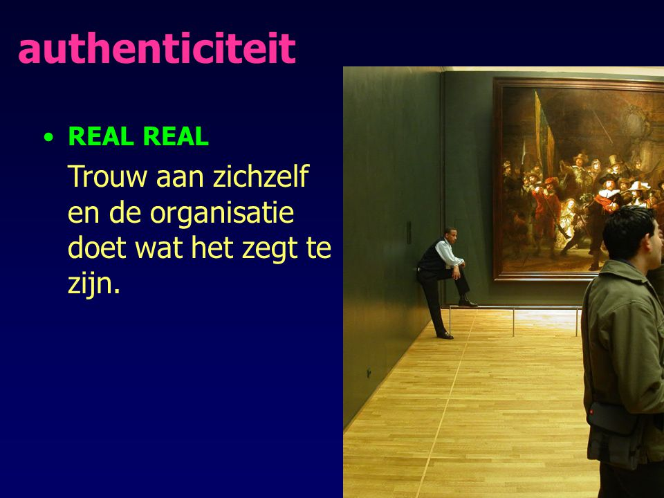 authenticiteit REAL REAL