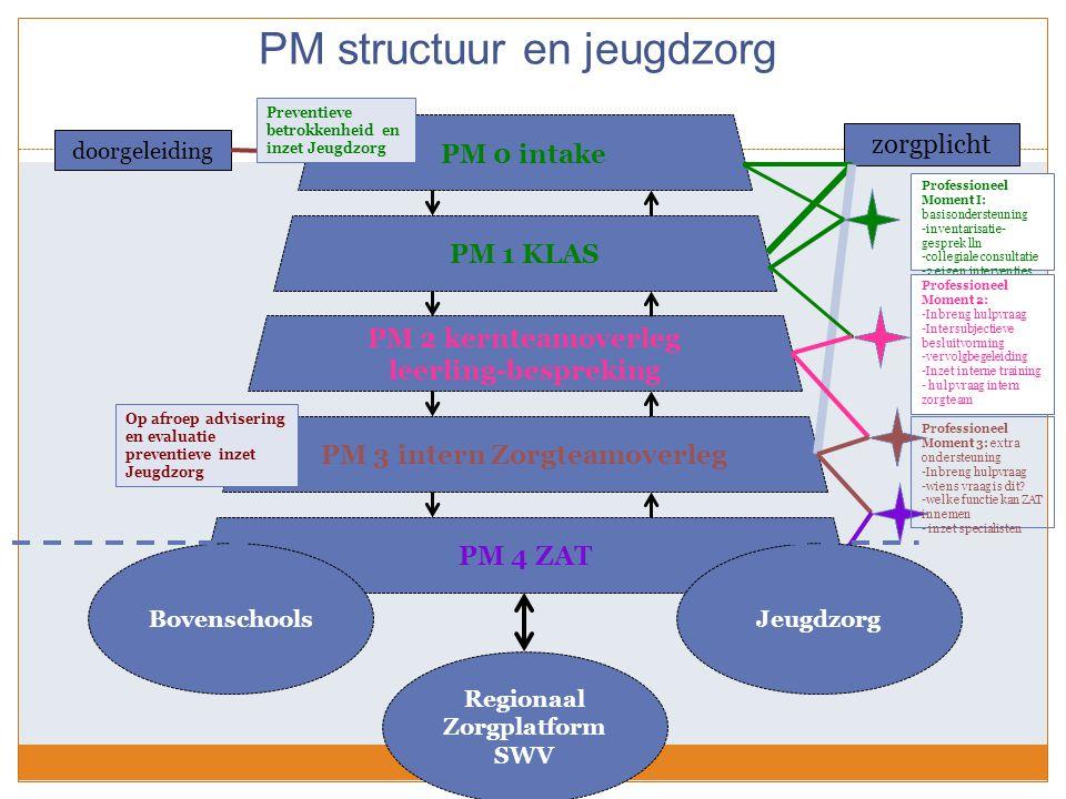 PM structuur en jeugdzorg