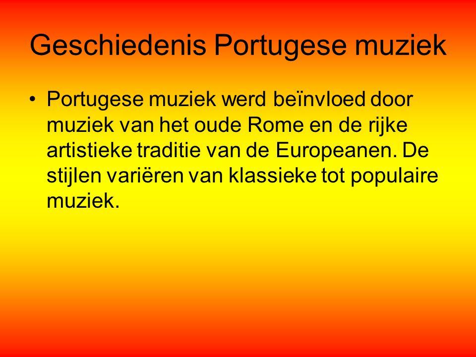 Geschiedenis Portugese muziek