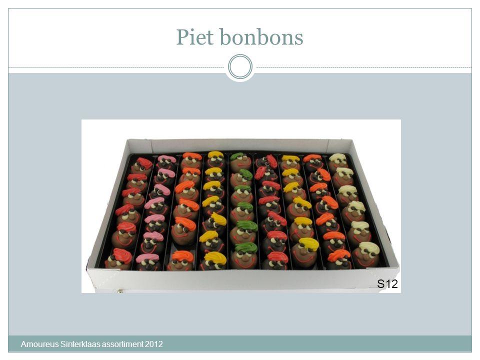 Piet bonbons S12 Amoureus Sinterklaas assortiment 2012