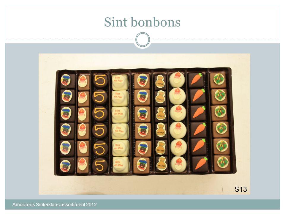 Sint bonbons S13 Amoureus Sinterklaas assortiment 2012