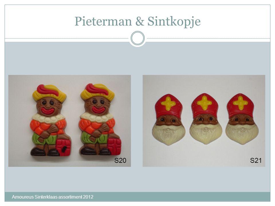 Pieterman & Sintkopje S20 S21 Amoureus Sinterklaas assortiment 2012