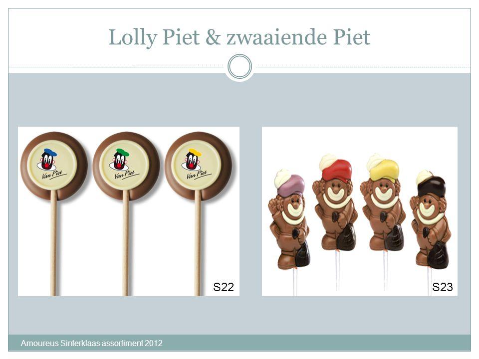 Lolly Piet & zwaaiende Piet