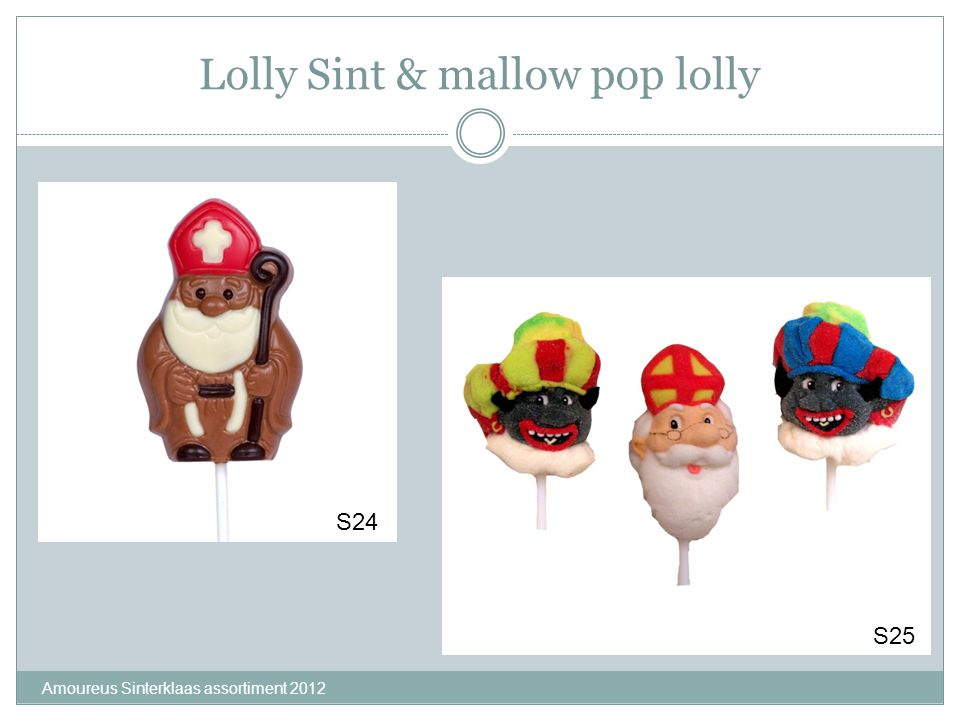 Lolly Sint & mallow pop lolly