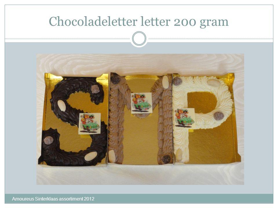 Chocoladeletter letter 200 gram