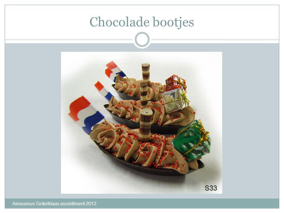 Chocolade bootjes S33 Amoureus Sinterklaas assortiment 2012