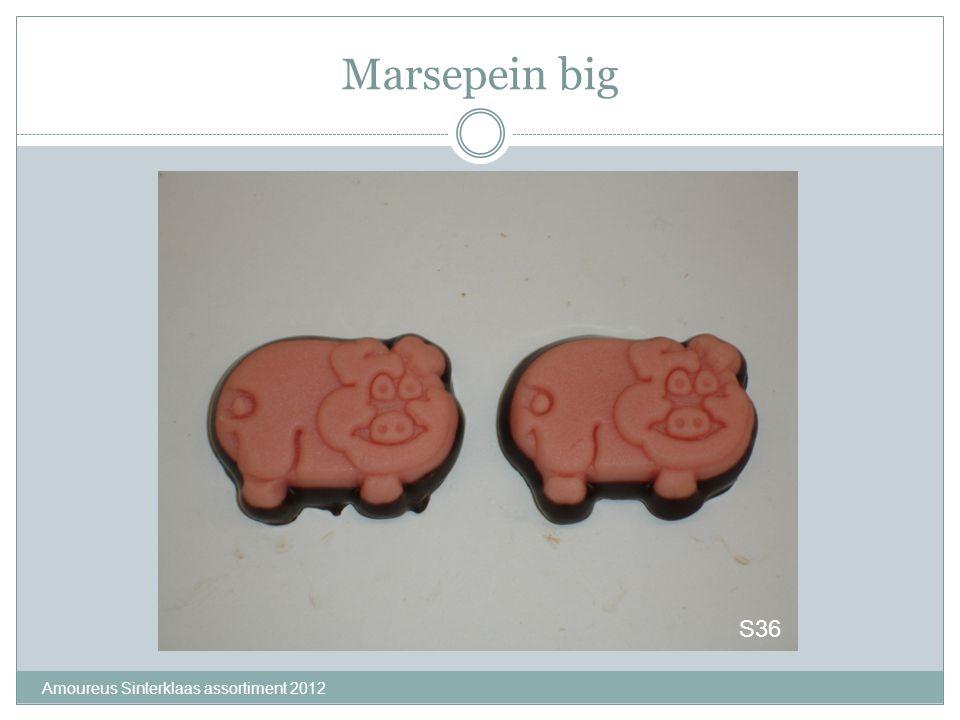 Marsepein big S36 Amoureus Sinterklaas assortiment 2012