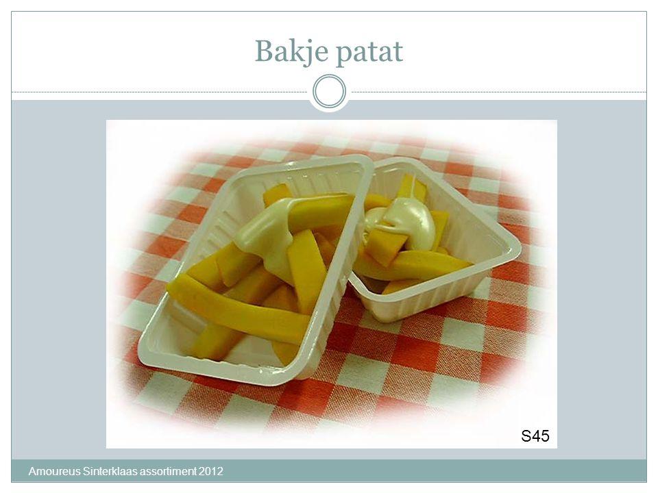 Bakje patat S45 Amoureus Sinterklaas assortiment 2012