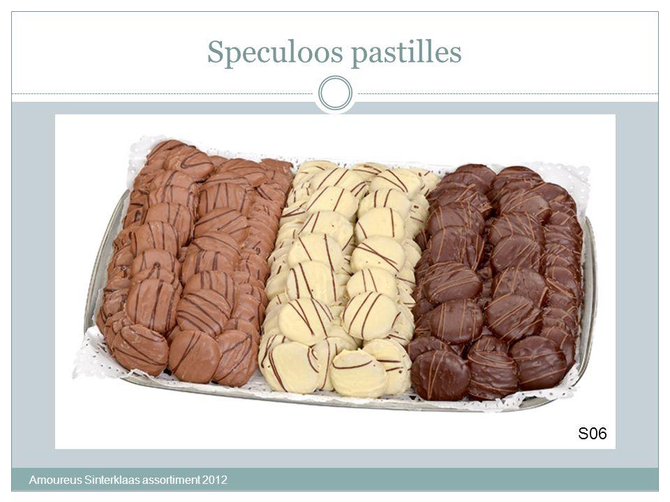 Speculoos pastilles S06 Amoureus Sinterklaas assortiment 2012
