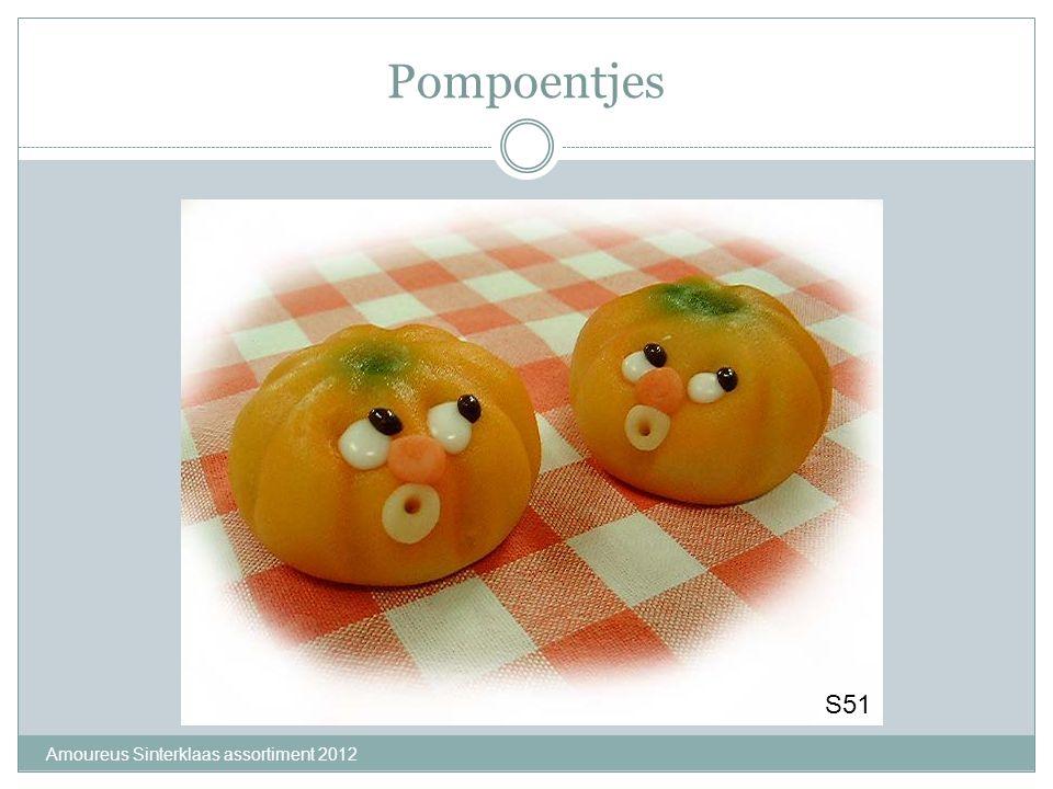 Pompoentjes S51 Amoureus Sinterklaas assortiment 2012