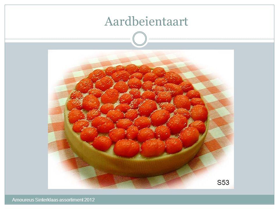 Aardbeientaart S53 Amoureus Sinterklaas assortiment 2012