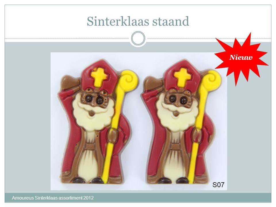 Sinterklaas staand Nieuw S07 Amoureus Sinterklaas assortiment 2012