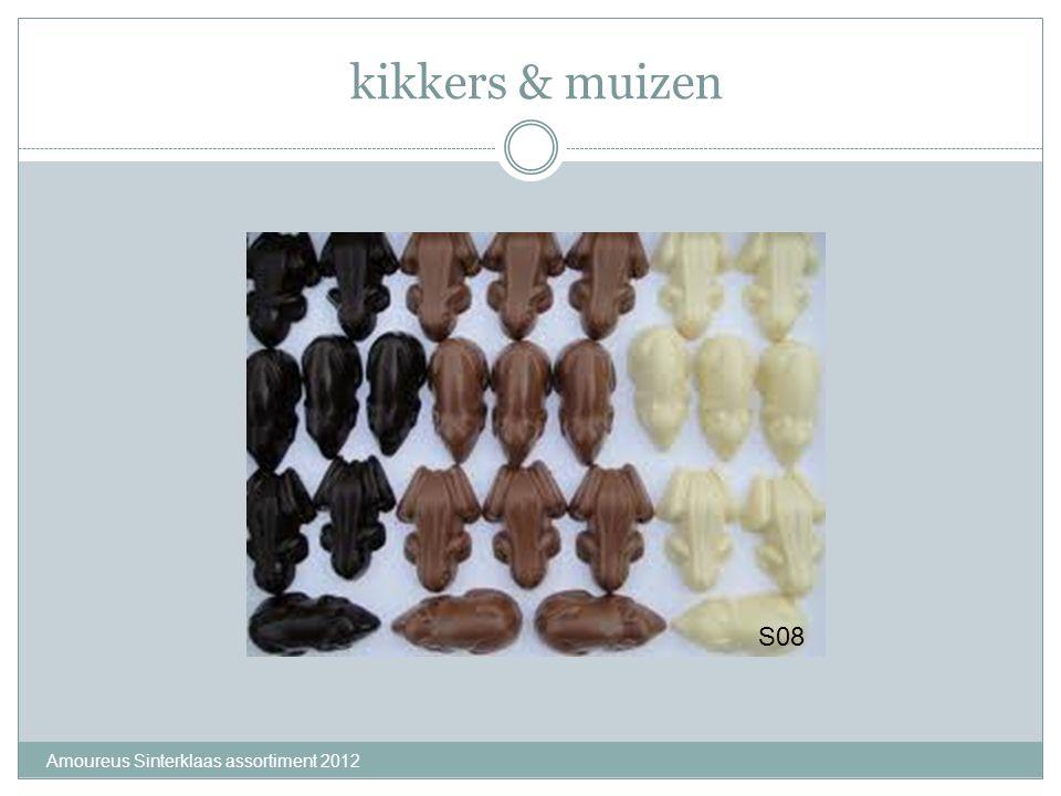 kikkers & muizen S08 Amoureus Sinterklaas assortiment 2012