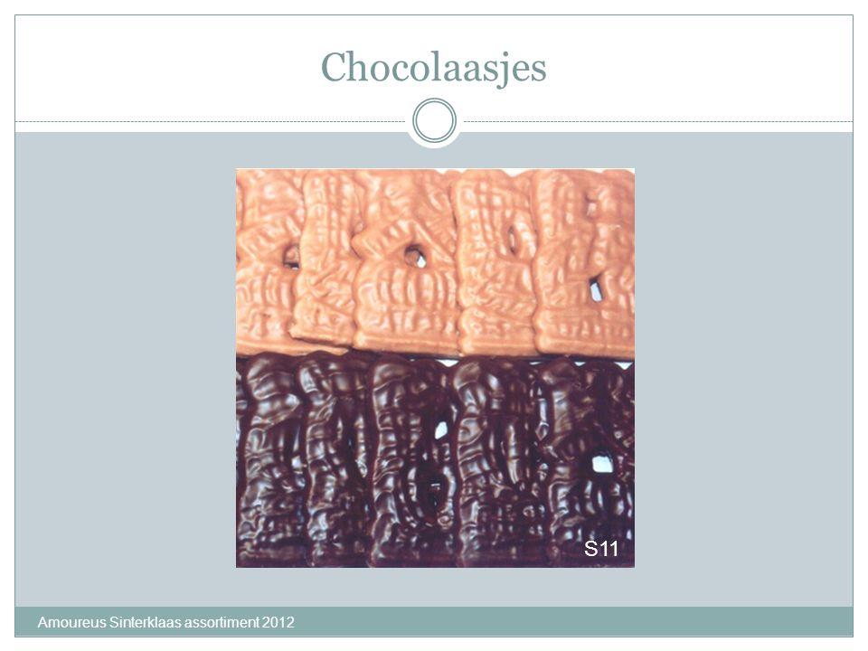 Chocolaasjes S11 Amoureus Sinterklaas assortiment 2012