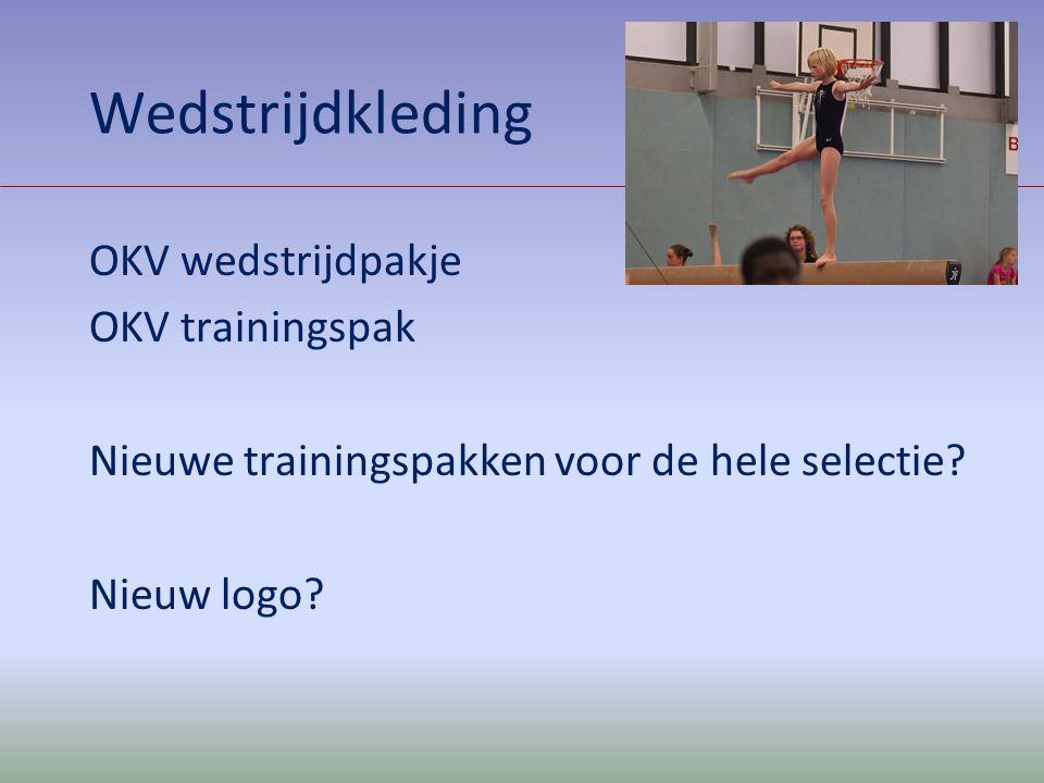 Wedstrijdkleding OKV wedstrijdpakje OKV trainingspak