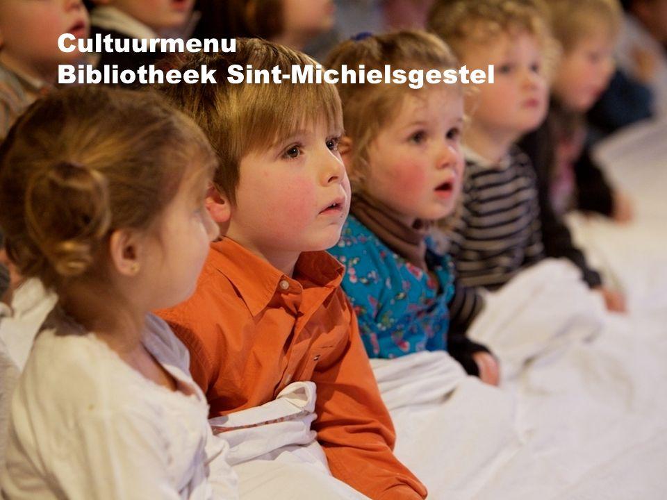 Cultuurmenu Bibliotheek Sint-Michielsgestel