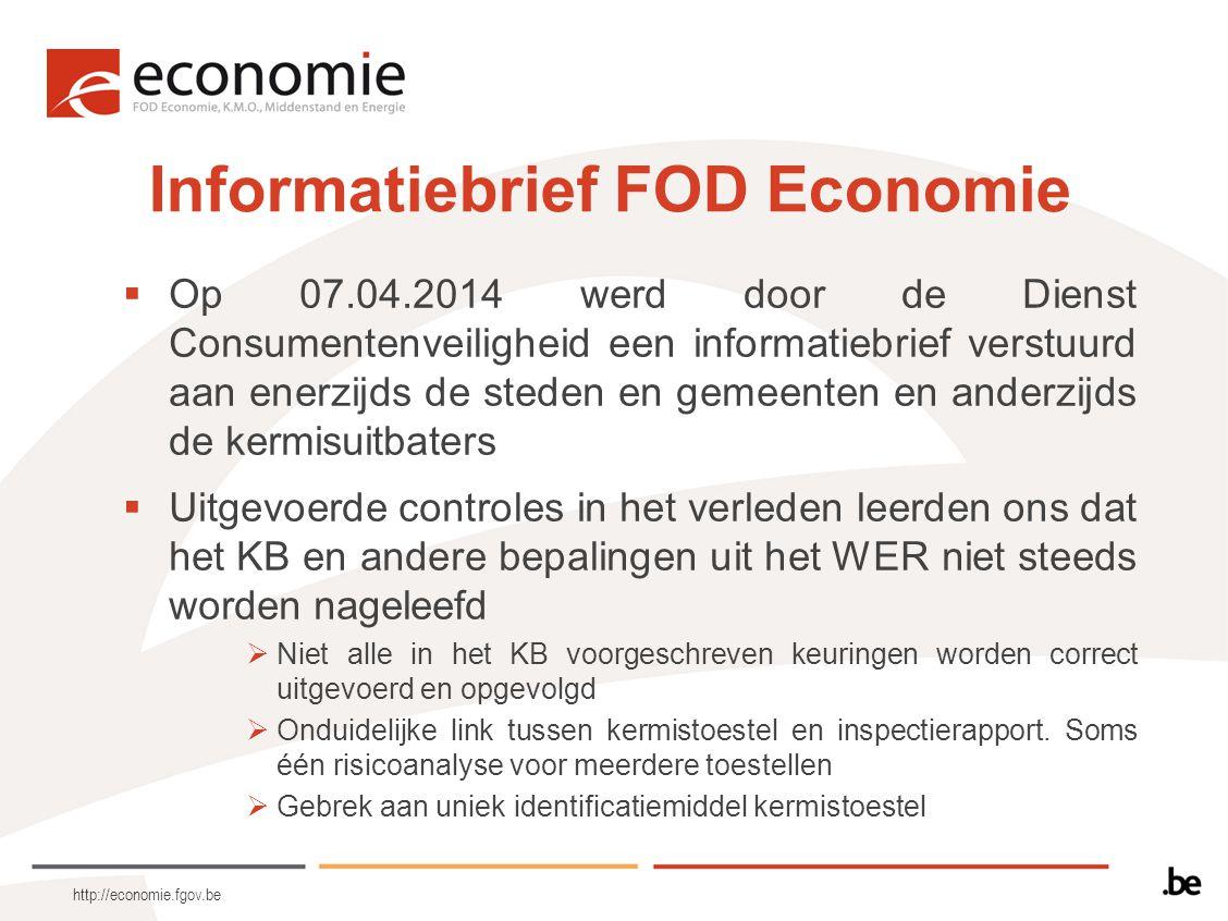 Informatiebrief FOD Economie