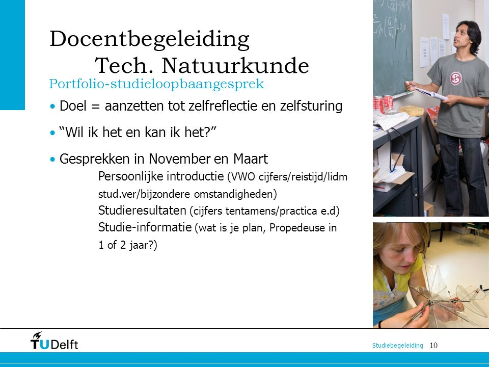 Docentbegeleiding Tech. Natuurkunde