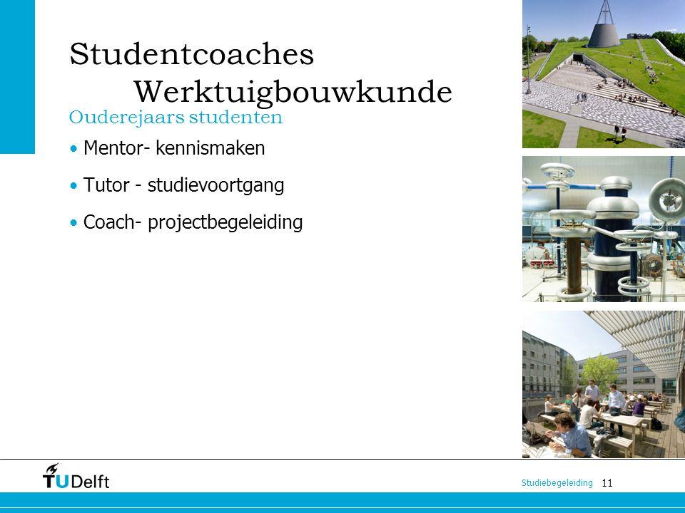 Studentcoaches Werktuigbouwkunde