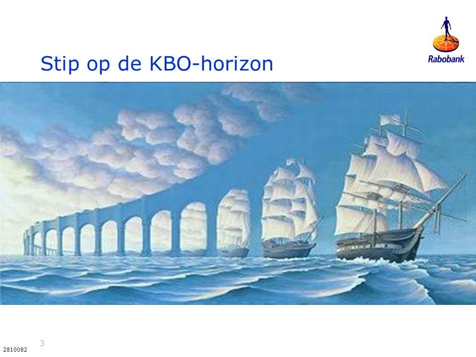 Stip op de KBO-horizon