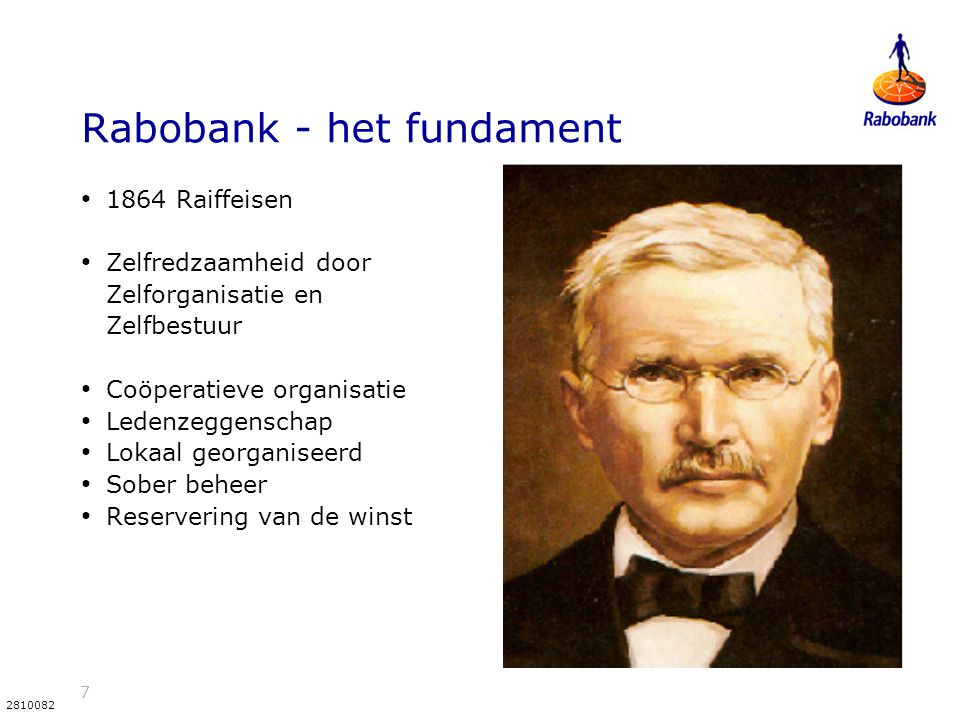 Rabobank - het fundament