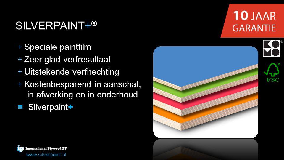 SILVERPAINT+® = Silverpaint+ + Speciale paintfilm