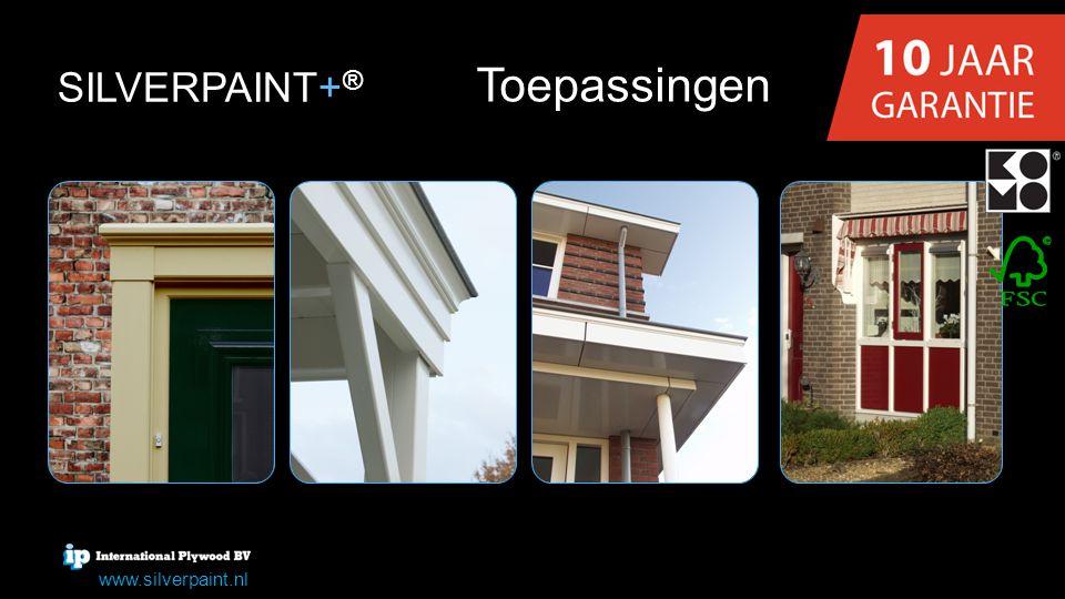 SILVERPAINT+® Toepassingen www.silverpaint.nl
