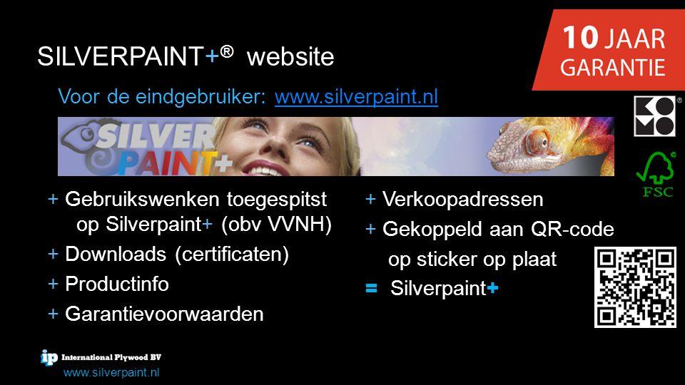 SILVERPAINT+® website