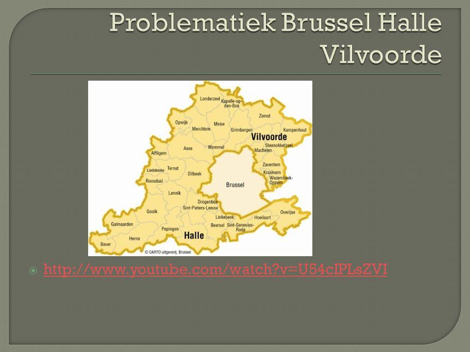 Problematiek Brussel Halle Vilvoorde