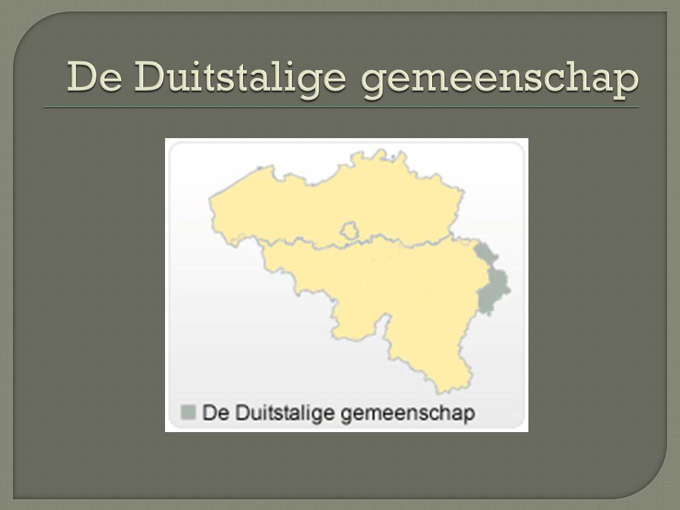 De Duitstalige gemeenschap