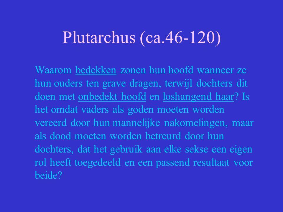 Plutarchus (ca.46-120)