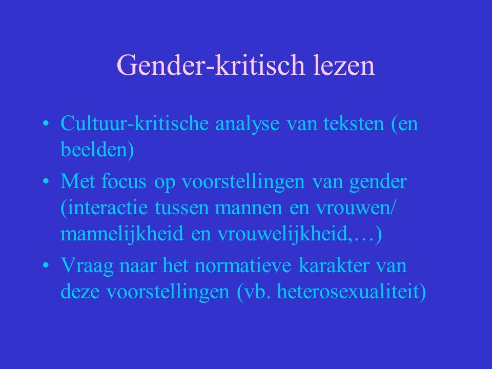 Gender-kritisch lezen