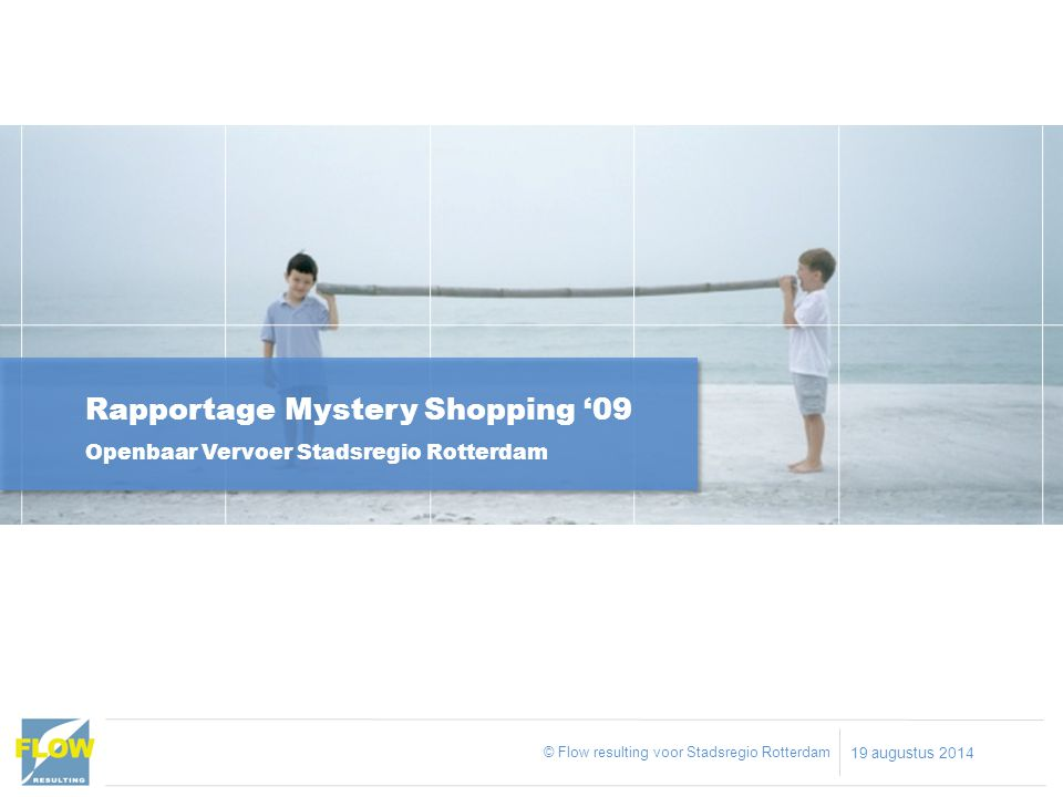Rapportage Mystery Shopping '09