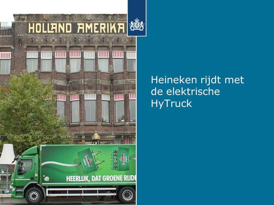 Heineken rijdt met de elektrische HyTruck