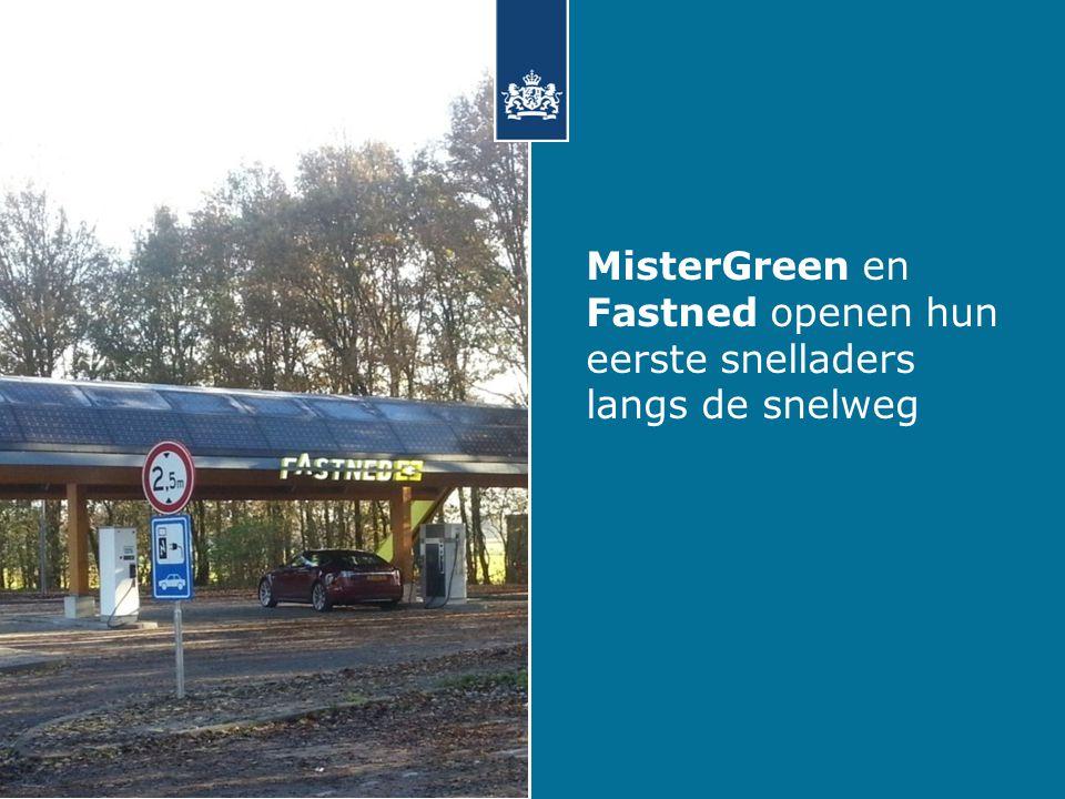 MisterGreen en Fastned openen hun eerste snelladers langs de snelweg