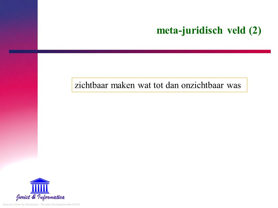 meta-juridisch veld (2)