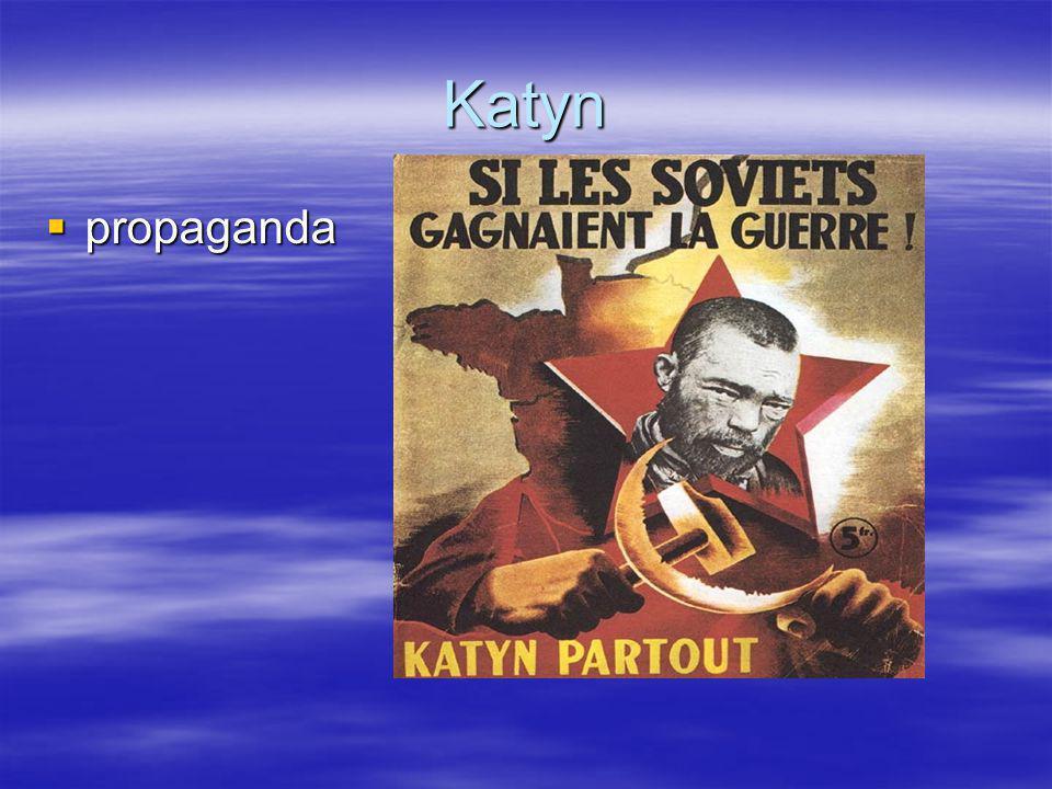 Katyn propaganda Ook in de geallieerde pers