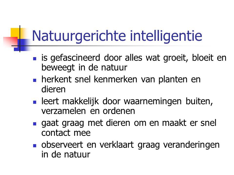 Natuurgerichte intelligentie