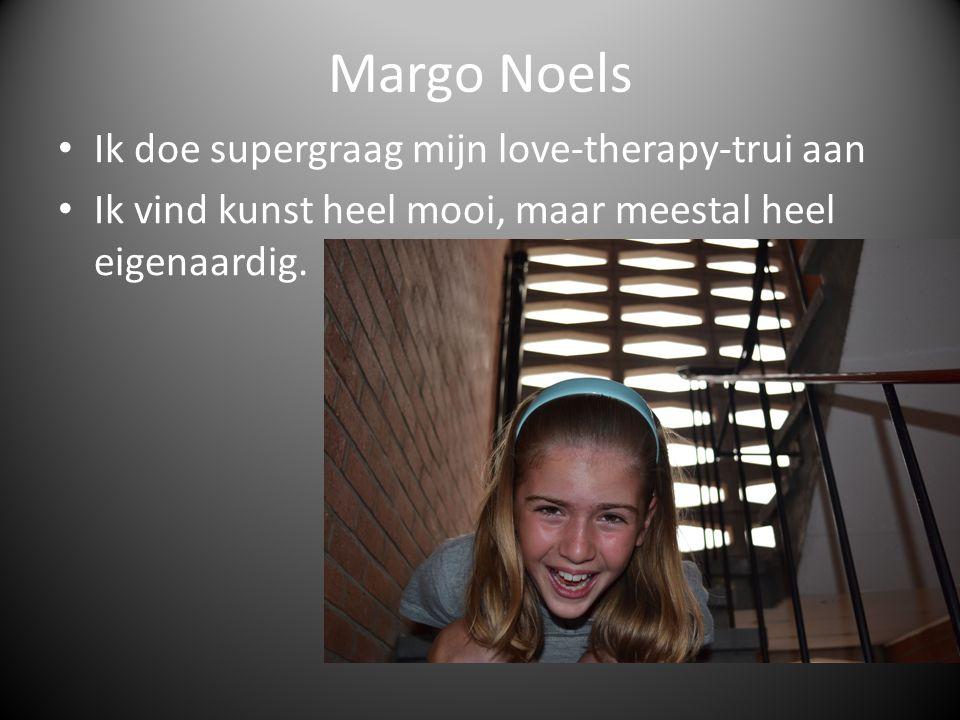 Margo Noels Ik doe supergraag mijn love-therapy-trui aan