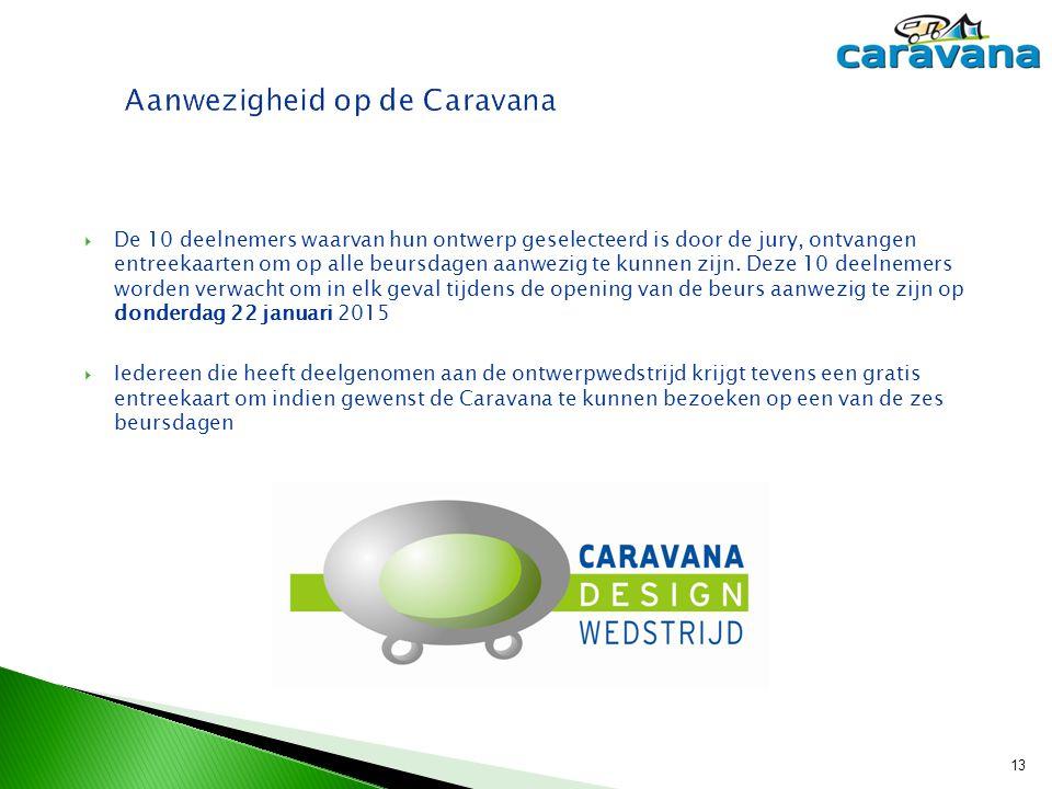Aanwezigheid op de Caravana