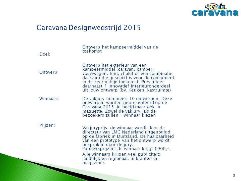 Caravana Designwedstrijd 2015