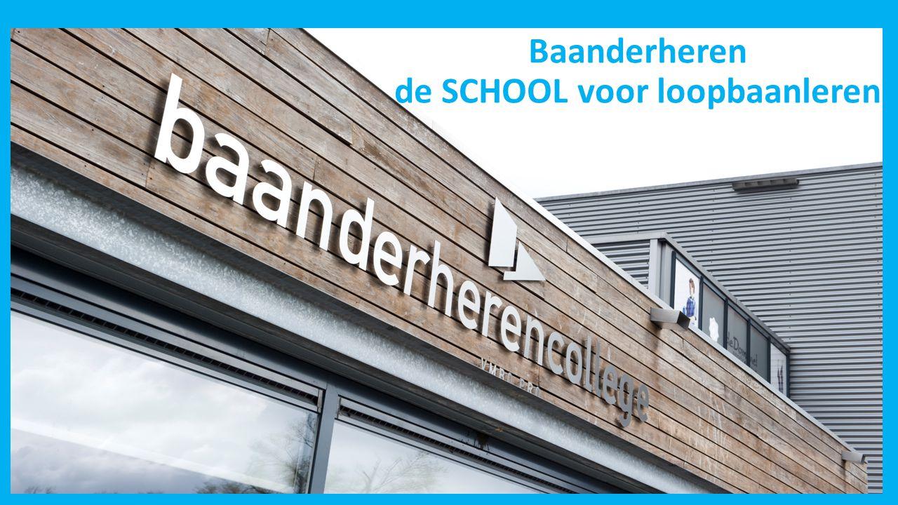Baanderheren de SCHOOL voor loopbaanleren